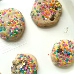 Rainbow Sprinkle Chocolate Chip Cookies
