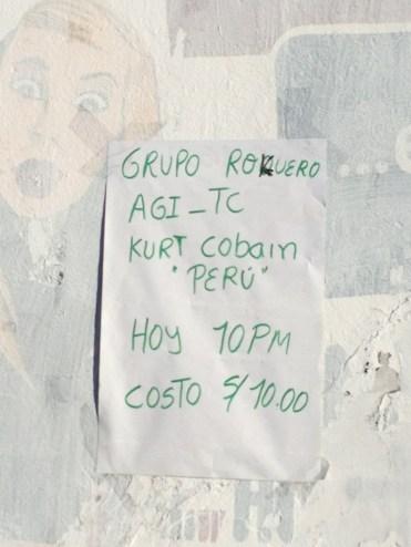 Kurt Cobain Peru