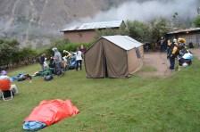 Breaking Camp - Wayllabamba