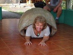 Kathy Too Petite to Do a Tortoise Push Up!