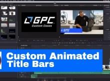 Custom animated lower thirds - Davinci Resolve Fusion 2
