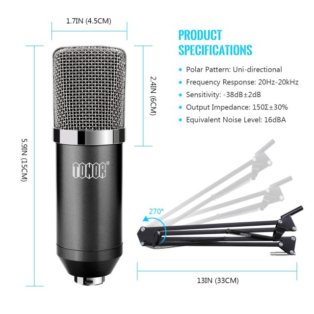 TONOR BM-700 Microphone Review 1