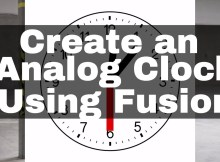 Creating an Analog Clock in Davinci Resolve Fusion 5