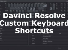 Keyboard Customization with Davinci Resolve 15 6