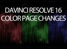Davinci Resolve 16 - Color Page Changes and Project Notes 2