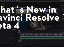 What's New in Davinci Resolve 16 Beta 4 2