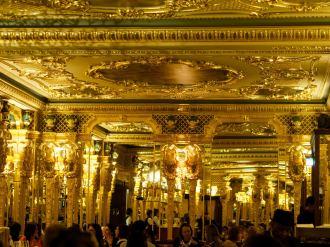 ornate detailing in Oscar Wilde Lounge Cafe Royal