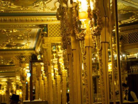 ornate detailing at cafe royal