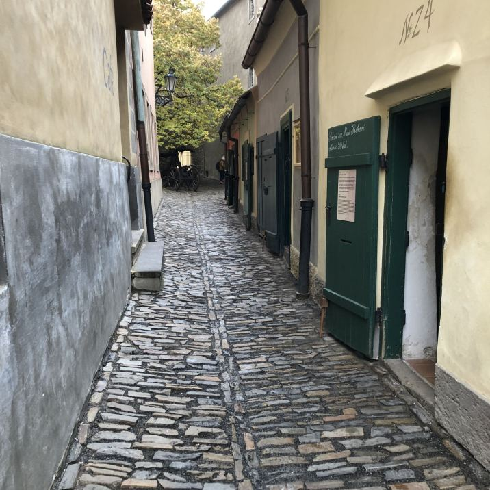 Golden Lane Prague