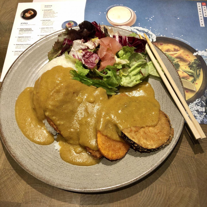 wagamama vegan menu Katsu curry