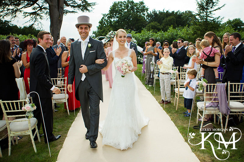 weddings at hedsor house outside ceremony