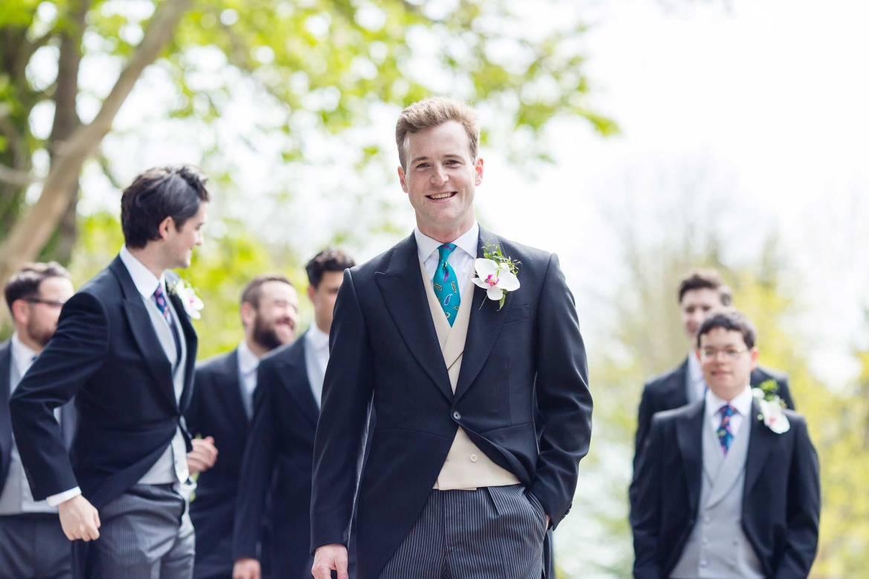 Kieran the groom