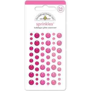 Doodlebug Designs sprinkles glitter bubblegum
