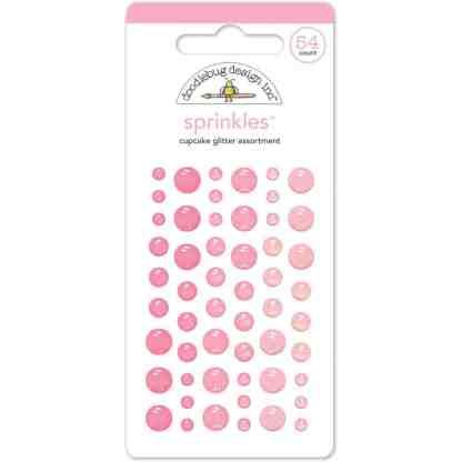 Doodlebug Designs sprinkles glitter cupcake