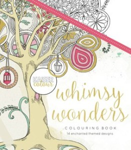 Kaisercolour The Whimsy Wonders Colouring book