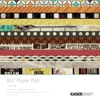 Kaisercraft 6.5 Paper Pad and Collectables Close Up