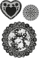 Kaisercraft Clear Stamp Secret Admirer Doilies