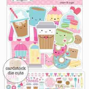 Doodlebug Design Odds & Ends Cream & Sugar