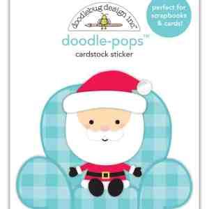 Doodlebug Design Doodle Pops Santa Visit