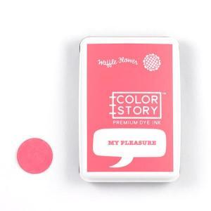 Waffle Flower Crafts Dye Ink Pad Happy My Pleasure