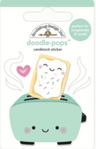 Doodlebug Design Doodle Pops Toaster Time