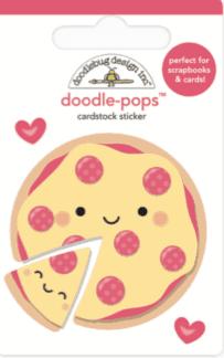 Doodlebug Design Doodle Pops Pizza Love