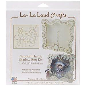 La La Land Crafts Nautical Theme Shadow Box Kit