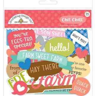 Doodlebug Design Chit Chat Down on the Farm