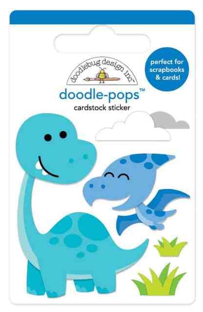 Doodlebug Design Doodle Pops Dino Mite