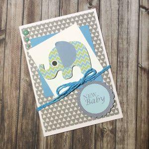 Handmade Card Kit Baby A