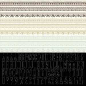 Kaisercraft 12x12 Sticker Sheet On This Day Lace