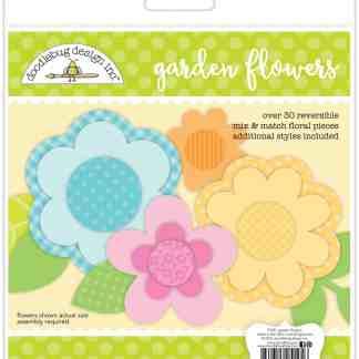Doodlebug Design Garden Flowers Craft Kit