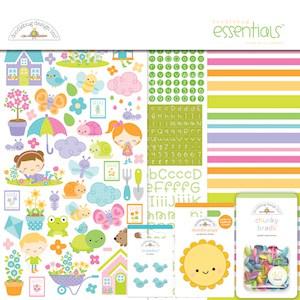 Doodlebug Design Essentials Kit Simply Spring