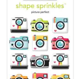 Doodlebug Design Shape Sprinkles Picture Perfect