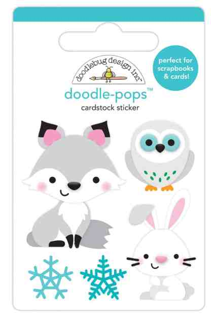 Doodlebug Design Doodle Pops Foxy and Friends
