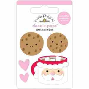 Doodlebug Design Doodle Pops Cookies For Santa