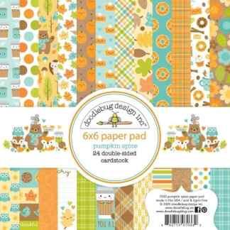 Doodlebug Design 6x6 Paper Pad Pumpkin Spice