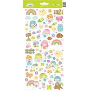 Doodlebug Design Icon Stickers Fairy Garden