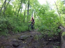 French creek home trails Raccon Trail