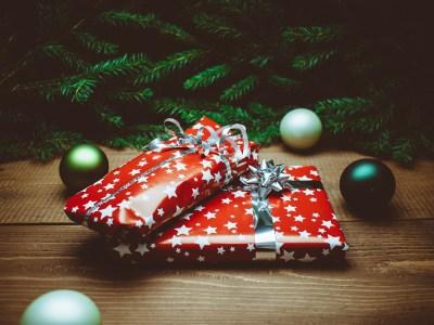 gratis cadeau voor de kerst