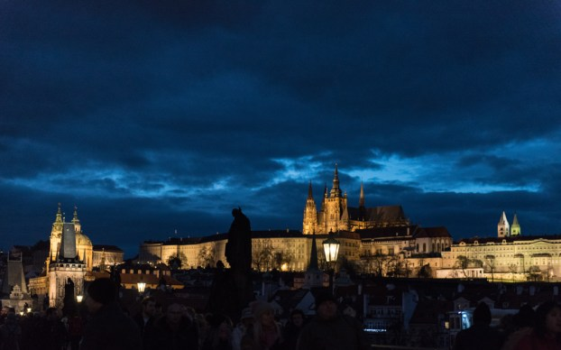 27 Prag, Tschechien, Czech Republic, sightseeing, city, night