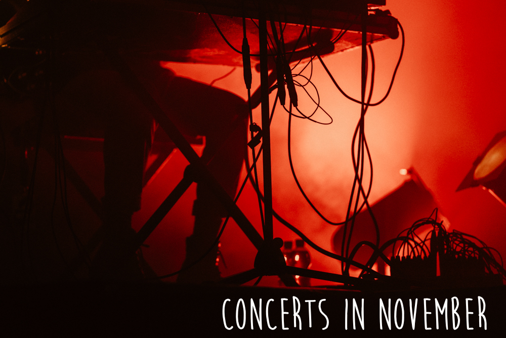 Concerts you have to see in November in Berlin