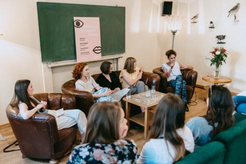 Mirna Funk, Teresa Bücker, Elke Buhr, Sarah Gottschalk, Silvia Binggeli_Casper_#1 Female Pioneer Panel_Kerstin Musl_44