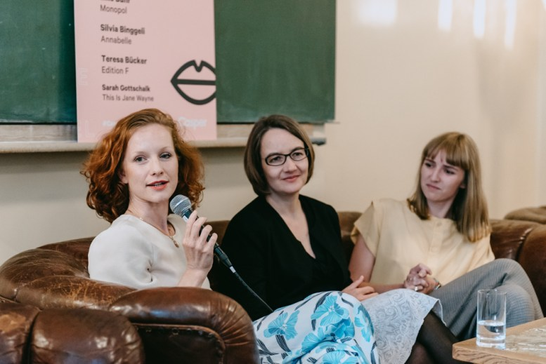 Teresa Bücker, Elke Buhr, Sarah Gottschalk_Casper_#1 Female Pioneer Panel_Kerstin Musl_37