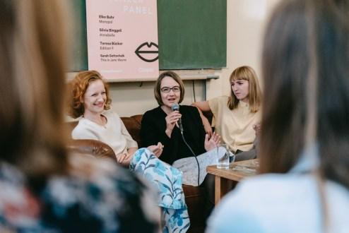 Teresa Bücker, Elke Buhr, Sarah Gottschalk_Casper_#1 Female Pioneer Panel_Kerstin Musl_45