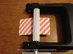 Das Papier wirkt je nach Muster ganz anders.