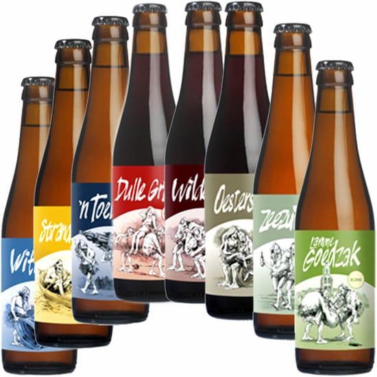 Bierpakket Biertje 8 - Streek bierpakket gevuld met lokaal bier en streekproducten - Bier geschenk - www.kerstpakkettencadeaubon.nl
