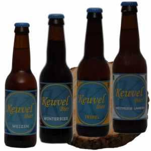 Bierpakket Keuvel 4 op schijf - Keuvel Bier Westfries biergeschenk gebrouwen in Noord-Holland - Biergeschenk Specialist - www.kerstpakkettencadeaubon.nl