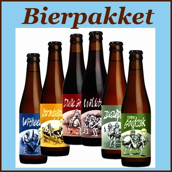 Bierpakket - bierpakket gevuld met lekkere biertjes - Bier cadeau Specialist - www.kerstpakkettencadeaubon.nl