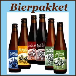 Bierpakket gevuld met bieren